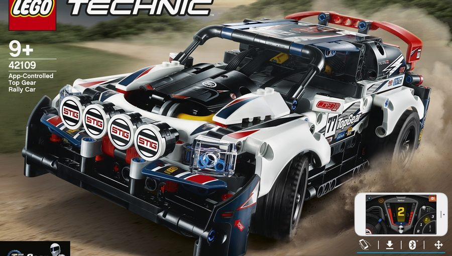 lego technic rally car motorized