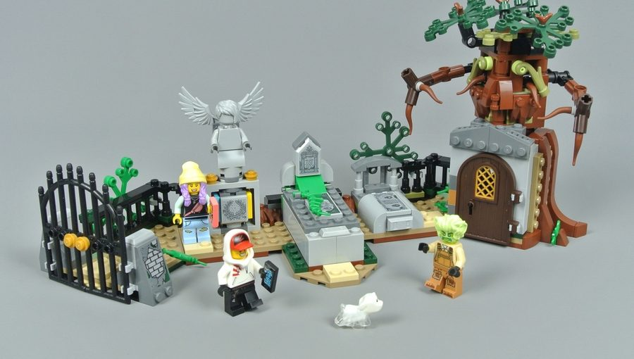 70420 Загадка старого кладбища - общий вид набора