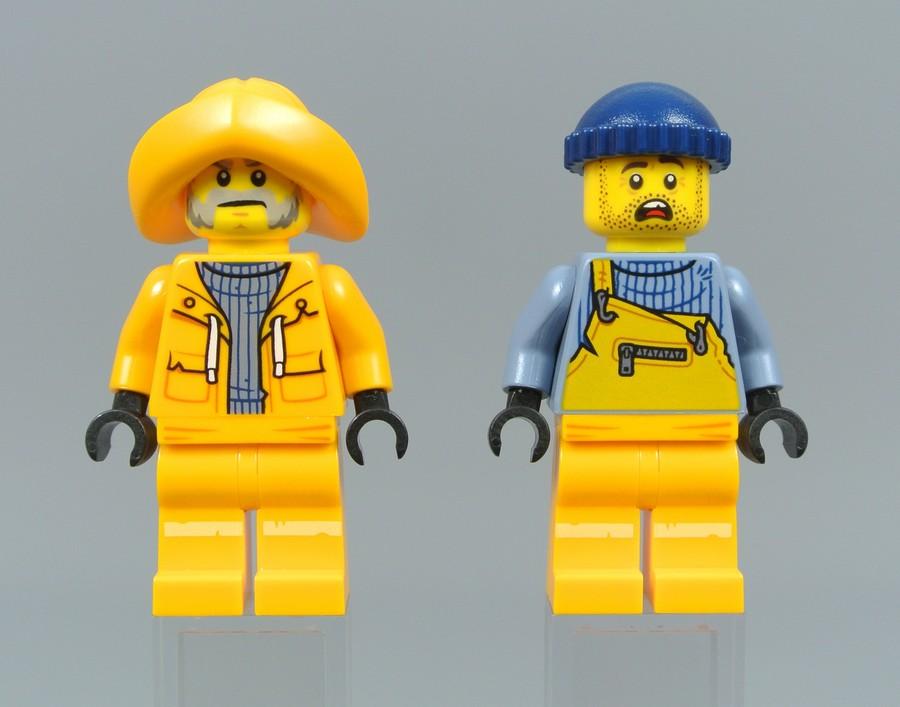 Лего Капитан Джонас и помошник Джонас-младший